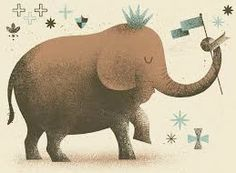 a cute little elephant by Kevin Howdeshell