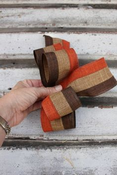 How to Make a Burlap Wreath With Step by Step Bow Making Directions :: Hometalk