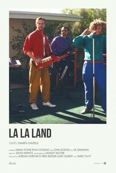La la Land alternative movie poster