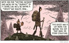 Snatched this from the BC discussion forums. Art by Tom Gauld.