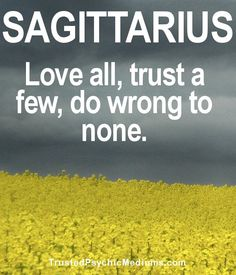 10 Quotes and Sayings About Sagittarius