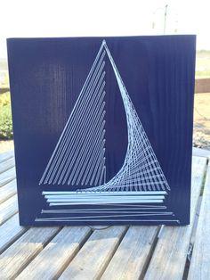 String Art, a kézi hurkolás művészete. Így készíthetünk dekoratív cérnaképeket!   Életszépítők