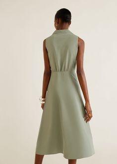 Damen Moda Mango, Flare, Bow Shirts, Camisa Formal, Mango Fashion, Fashion Online, Ideias Fashion, Latest Trends, Hair Bows