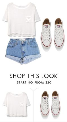 """How to wear Converse"" by karlamichell on Polyvore featuring beauty, Levi's, MANGO and Converse"