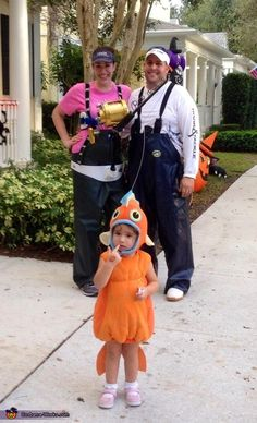 Gone Fishing- Family Halloween Costume Idea