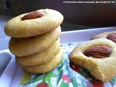 Flavors from my kitchen !: Besan(chickpea flour) Cookies