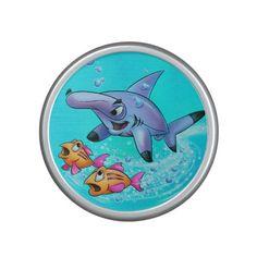 Cartoon shark speaker