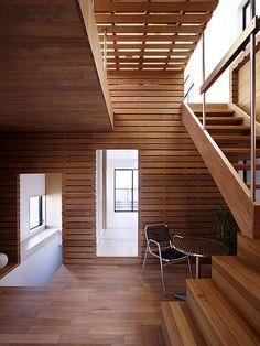 wood interior / naf architect