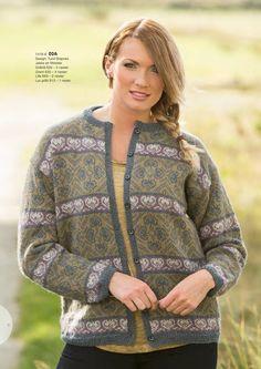 Katalog 1416 - Viking of Norway Fair Isle Knitting, Hand Knitting, Knitting Patterns, Sweater Jacket, Bomber Jacket, Hand Knitted Sweaters, Alpacas, Norway, Vikings
