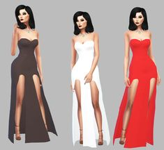 Red Velet, Sims 4 Gameplay, Sims 4 Cc Furniture, Strapless Dress Formal, Formal Dresses, Sims 1, Sims 4 Cc Finds, Sims 4 Clothing, The Sims4