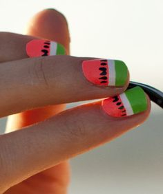 Probably The Most Perfect Summer Nail Art, Ever #Refinery29