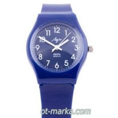 Часы синие ДЕК.РЕМ Watch for children. Lovely children's watch. Made in Russia. Delivery.