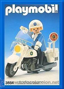 Policia Playmobil