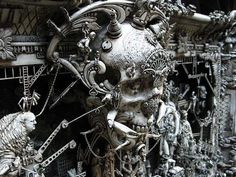 Esculturas Kris Kuksi (12)