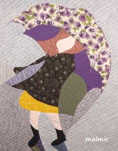 Umbrella  - pattern - Peegy Aare