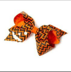 Claire's halloween bow