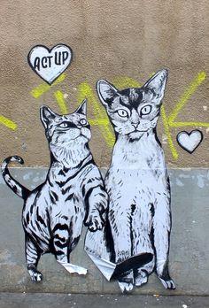 Street Artist: Syriani in Paris
