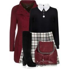 Chic Outfits, Fashion Outfits, Womens Fashion, Fall Winter Outfits, Autumn Winter Fashion, Moda Disney, Vintage Outfits, Vintage Fashion, Looks Chic