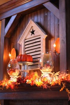 Fall Decor... beautiful!