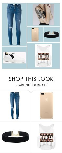 """""""Sin título #175"""" by accp06 ❤ liked on Polyvore featuring Frame Denim"""