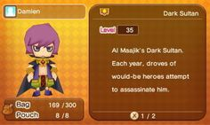 fantasy life damian Fantasy Life, Like Animals, Animal Crossing, Video Games, Pokemon, Family Guy, Hero, Fictional Characters, Videogames