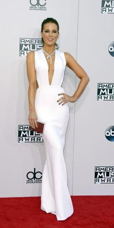 Vestido blanco largo, me encanta