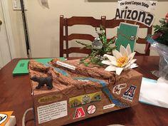 ARIZONA STATE FLOAT-5th Grade Project