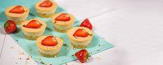 Mafinové cheesecaky Cheesecake, Vegan, Desserts, Food, Tailgate Desserts, Deserts, Cheesecakes, Essen, Postres