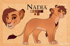 Nadia - Contest Entry by kujoTLK on DeviantArt Lion King Names, Lion King 1, Lion King Fan Art, Lion Art, Disney Lion King, Anime Lion, Anime Furry, Big Cats Art, Cat Art