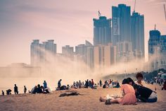 Haeundae beach, Busan, Korea...check