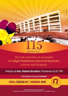 115 anos Colégio XV