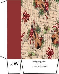Christmas Bags, 1st Christmas, Box Templates, Christmas Graphics, Envelopes, Christmas Decorations, Boxes, Gift Wrapping, Create