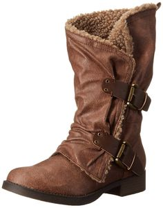 Jellypop Women's Biker Winter Boot -- Tried it! Love it! Click the image. : Boots