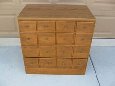 Ethan Allen CRP Custom Room Plan Heirloom 4 Drawer Apothecary Chest 10-4521P