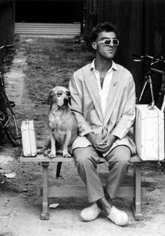 Man's Best Friend..........Wonderful shot, I almost thought it was Dustin H!