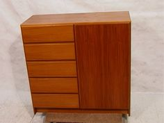 Armoire Dresser, Hidden Compartments, Storage Design, Bedroom Storage, Credenza, Teak, Drawers, Cabinet, Danish