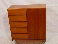 Armoire Dresser, Hidden Compartments, Storage Design, Bedroom Storage, Credenza, Teak, Drawers, Cabinet, Danish