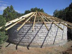 How to build a low cost diy yurt future primitive pinterest build your own yurt using papercrete diy solutioingenieria Choice Image