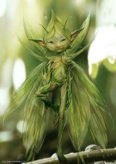 magical green fairy