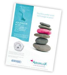 Campagne presse Aqualux Blue Press, Convenience Store, Rural Area, Technology, Convinience Store