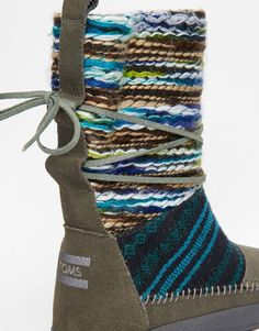 image 2 of toms nepal khaki snow boots