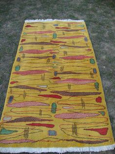 116x212cm/46x84 inches.Vintage turkish modern design rug.yellow color in tereting design living room rug.decorative modern turkish rug by MINIMALLHOME on Etsy https://www.etsy.com/listing/270215058/116x212cm46x84-inchesvintage-turkish