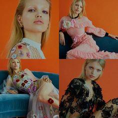 Numa mistura de Brigitte Bardot com Claudia Schiffer, a holandesaDaphne Groeneveldarrasa num Gucci estampada na capa na edição de dezembro da ELEE britânica. Em fotos de Kai Z Feng e edição de estilo de Anne-Marie Curtis, a moça abusa das transparências, bordados, aplicações, camadas e volumes das coleções Resorts da Alexander McQueen, Gucci, entre outros.#fashion #shooting #mondomoda #styling #sexy #elleuk #daphnegroeneveld #instagram #instadaily #instagood #instalike #insta
