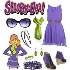 """Daphne 2 - Scooby Doo"" by b-scottyer on Polyvore"