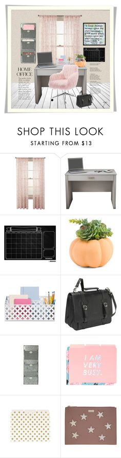 """""""I Am Busy"""" by craftygeminicreation ❤ liked on Polyvore featuring interior, interiors, interior design, home, home decor, interior decorating, Martha Stewart, John Cole Collections, ban.do and Kate Spade"""