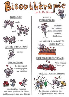 Fais-moi un bisou! on FLE enfants curated by Pilar_Mun Valentine's Day Quotes, Love Quotes, Positive Attitude, Positive Vibes, French Quotes, Teaching French, Learn French, Quote Of The Day, Decir No