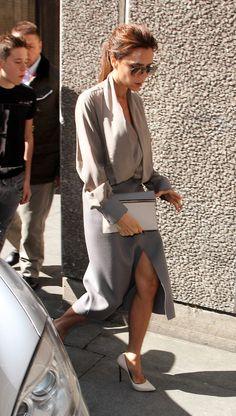 Victoria Beckham - Victoria Beckham Brings Her Family to the Vogue Festival