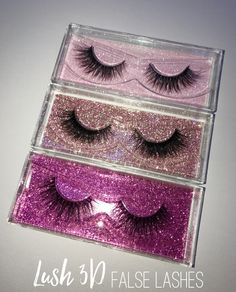 Pretty 3D lashes from www.glowcult.com