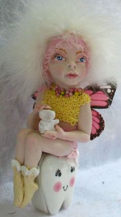 Tooth OOAK Fairy  http://cgi.ebay.com/ws/eBayISAPI.dll?ViewItem=161057011221