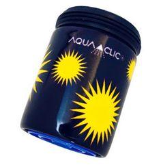 Spart bis zu 50% Wasser und Energie am Wasserhahn: AquaClic Soleil Soleil aus Messing.